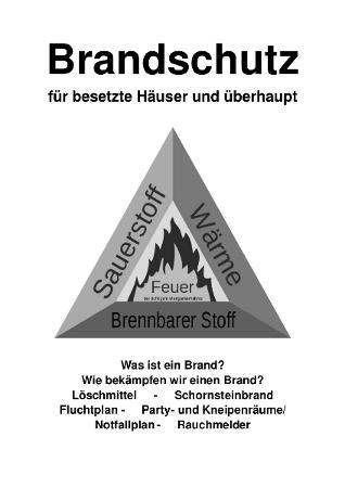 Brandschutz für besetzte Häuser (und überhaupt)