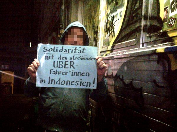 Uber KUMAN Solidarität 2017