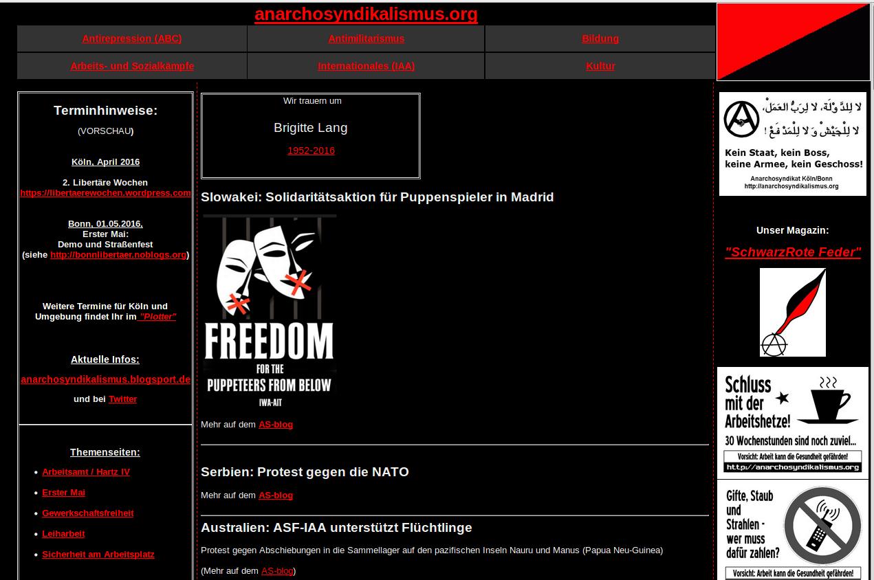 Archiv-Webseite (anarchosyndikalismus.org)