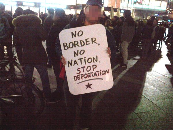 No border, no nation, stop deportation
