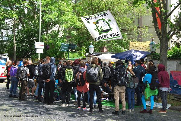 Villa Rühl Besetzung Mai 2017