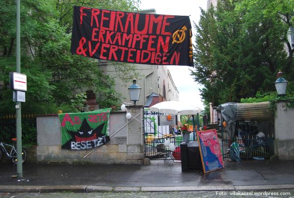 """Soziales Zentrum \""""Unsere Villa\"""" Kassel 2017"""